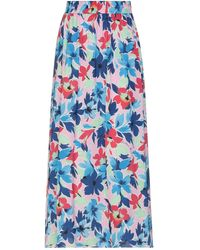 Boutique Moschino Falda larga - Azul
