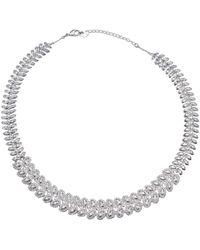 Swarovski Halskette - Mettallic