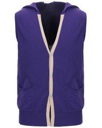 Grey Daniele Alessandrini Sweater - Purple