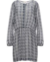 Custommade• Short Dress - Grey