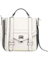 Proenza Schouler Ps1+ White Leather Backpack