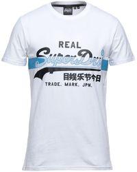 Superdry T-shirts - Weiß