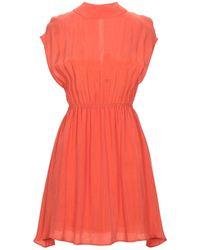 American Vintage Kurzes Kleid - Rot