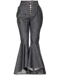 Ellery Denim Trousers - Blue