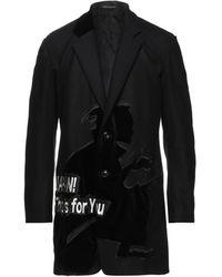 Yohji Yamamoto Coat - Black