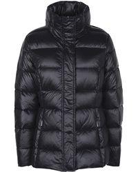 Lauren by Ralph Lauren Quilted Packable Down Jacket - Black
