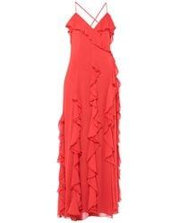 Alice + Olivia Long Dress - Red