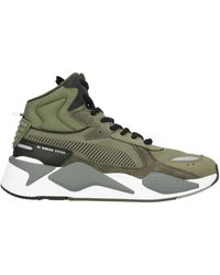 PUMA Sneakers & Tennis shoes alte - Verde