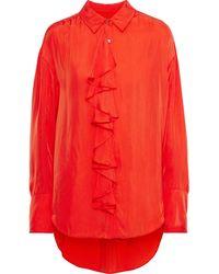 Cinq À Sept Shirt - Red
