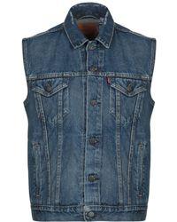 Levi's - Capospalla jeans - Lyst