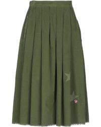 Saucony 3/4 Length Skirt - Green