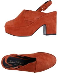 Robert Clergerie Court Shoes - Brown