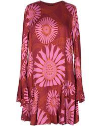 Mariagrazia Panizzi Short Dress - Red