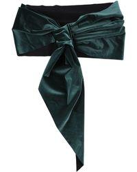 La Petite Robe Di Chiara Boni Cintura - Verde