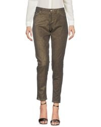 0039 Italy - Casual Pants - Lyst