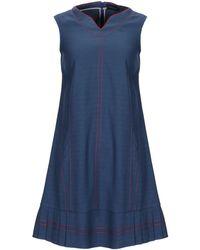 Piazza Sempione Short Dress - Blue
