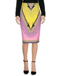 Versace Falda corta - Rosa