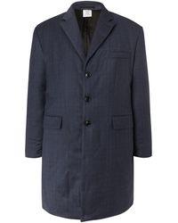 Vetements Manteau long - Bleu