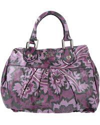 Secret Pon-pon Handbag - Purple