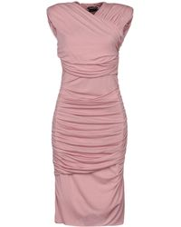Tom Ford Knee-length Dress - Pink