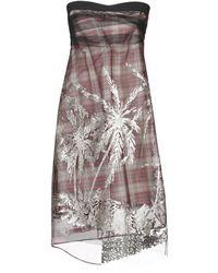 N°21 Kurzes Kleid - Schwarz