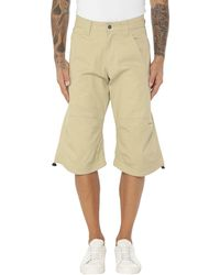 Quiksilver 3/4-length Trousers - Natural