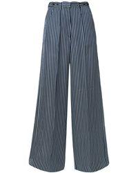 ROKH Pantalon - Bleu