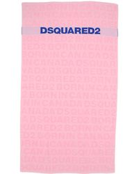 DSquared² Beach Towel - Pink