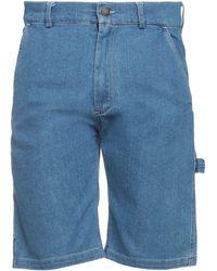 Caterpillar Shorts vaqueros - Azul