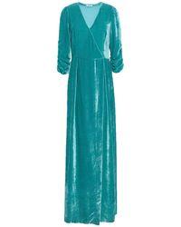 P.A.R.O.S.H. Langes Kleid - Blau