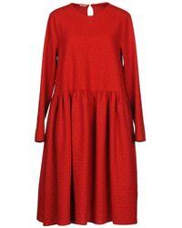 A.B Apuntob - Knee-length Dress - Lyst