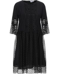 Blugirl Blumarine Short Dress - Black