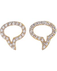 Aamaya By Priyanka Earrings - Metallic