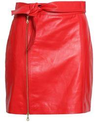 J Brand Mini-jupe - Rouge