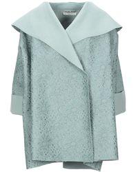La Petite Robe Di Chiara Boni Coat - Green