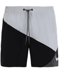 Nike Short de bain - Gris
