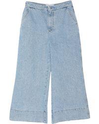 Loewe Denim Trousers - Blue