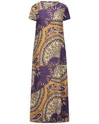 Jucca Long Dress - Purple