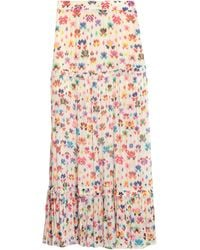 Chufy Long Skirt - White