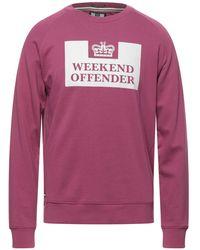 Weekend Offender Sweatshirt - Purple