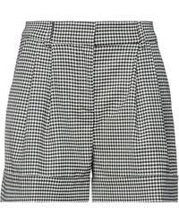 P.A.R.O.S.H. Shorts & Bermuda Shorts - Black