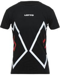 Lotto Leggenda T-shirt - Black