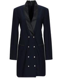 Annarita N. Overcoat - Blue