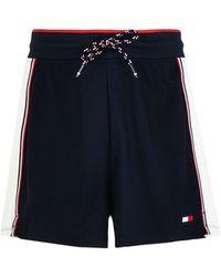 Tommy Sport Pantalones cortos y bermudas - Azul