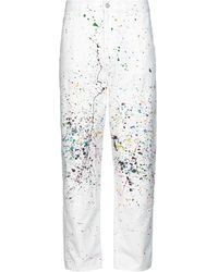 WOOD WOOD Denim Trousers - White
