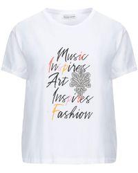 Silvian Heach T-shirts - Weiß