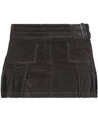 Armani Jeans Mini Skirt - Brown
