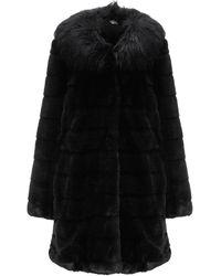 Liu Jo Teddy Coat - Black