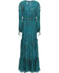 Talbot Runhof Long Dress - Green