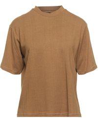 Thinking Mu T-shirt - Brown